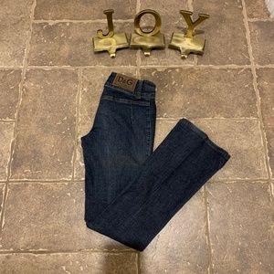 D&G A Norma Di Legge Low Rise Straight Leg Jeans